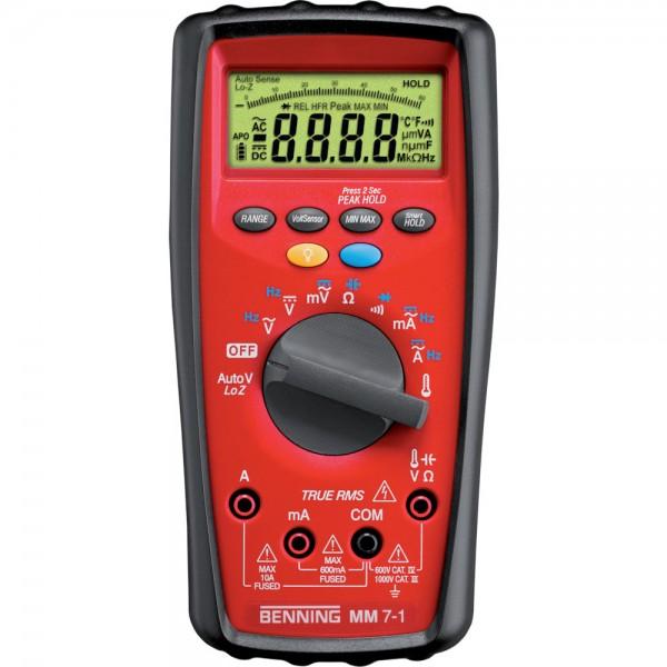 Digital-Multimeter MM 7-1 Benning