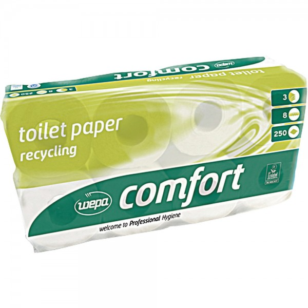 Toil.papier WEPAComfort 3-lg weiss 72 Rollen