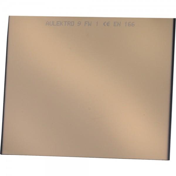 Schweißerschutzglas versp. 90x110 DIN A 9 VPE 10