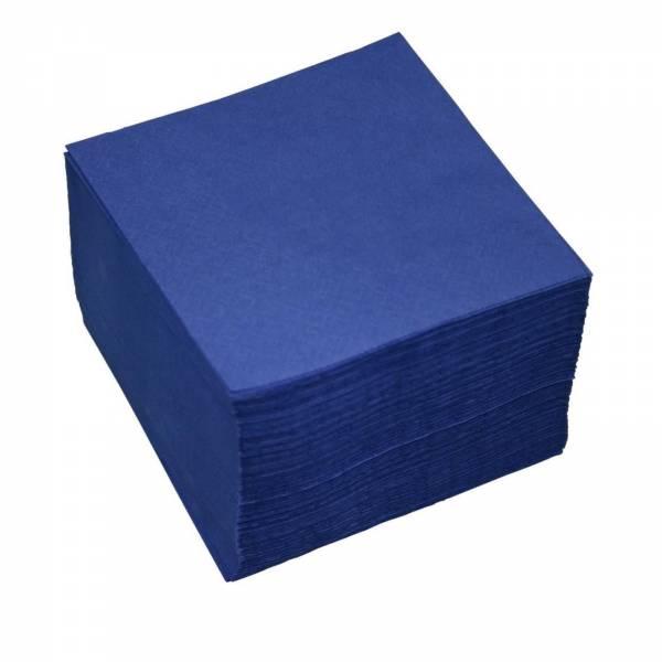 Zelltuchserviette 33 x 33cm 1000 Stück Blau/Gelb