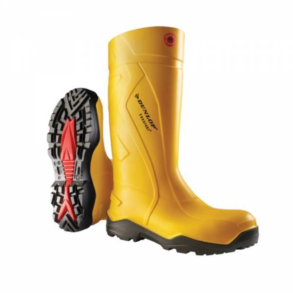 Dunlop Sicherheitsstiefel Purofort+ full safety S5 CI SRC gelb