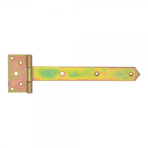 Kreuzgehänge 40x3,5x400mm gelb verz. VPE 10