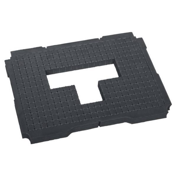 Tanos Würfelmittelpolster 25 mm hart für Systainer T-Loc