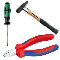 Handwerkzeuge, Schraubendreher, Zangen, Hammer etc.