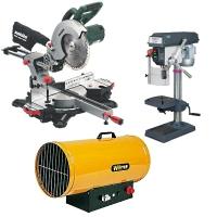 Warengruppe Maschinen, Hochdruckreiniger, Kehrmaschinen, Kreissägen